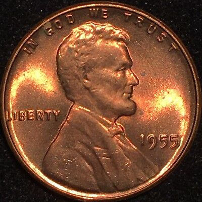 1955 Double Die Obverse Ddo Lincoln Cent Flawless *ms Rare Gem Red Bu ++++++++++