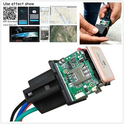 Car Relay GPS GSM/GPRS Dual-mode Positioning Tracker Real-time Tracking Devices