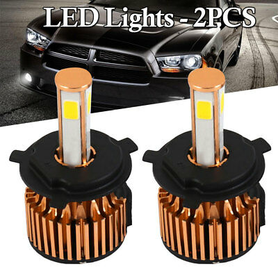 H4 HB2 9003 4_Side LED Headlight Conversion Kit 2300W 295000LM High Lo Beam Bulb