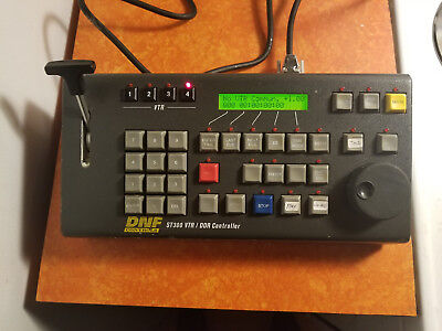 DNF Controls ST300 VTR/ DDR Controller w/ power supply and remote cable