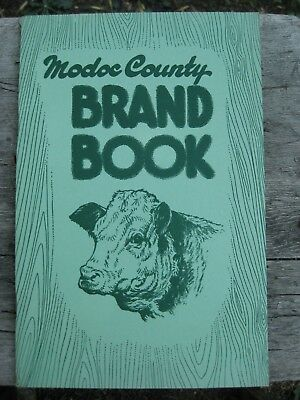 1951 Modoc County CA California Cattle Brand Book Cattlemen's Association OR NV