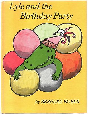 Vintage Children's Book LYLE AND THE BIRTHDAY PARTY Bernard Waber
