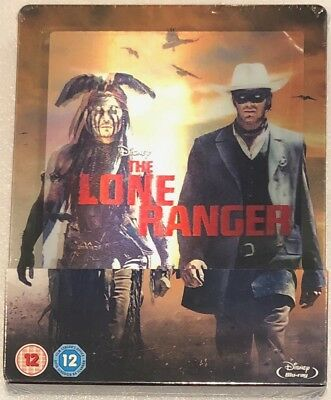 The Lone Ranger Lenticular Steelbook - UK Exclusive Limited Edition Blu-Ray