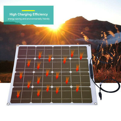 Ultra Thin 50W Watt 12V Poly Outdoor Solar Panel Module For Home / Boat / Yacht