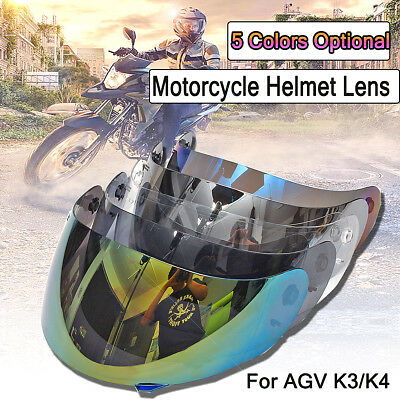 Motorcycle Helmet Anti-scratch Face Shield Visor Lens For AGV K3/K4 Motocross AU