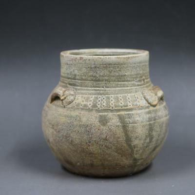 In the Warring States period, the floating canned Figurine jar.