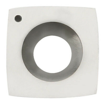 "Square Carbide Insert With Four Cutting Edges 2"" Face Radius And Round Edges Woo"