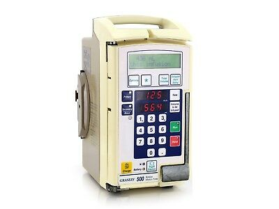 Graseby 500 Modular Infusion Pump with Pole Clamp - Volumetric IV Fluid Pump