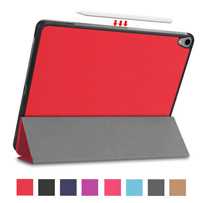 "For New iPad Pro 12.9"" 2018 Magnetic Smart Leather Case Support Pencil Charging"