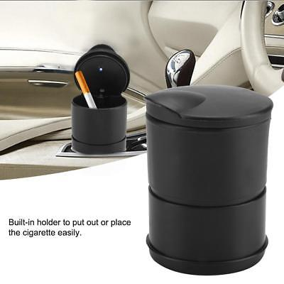 Car Ashtray Travel Cigarette Cigar Ash Holder Cup with Blue LED Light Indicator