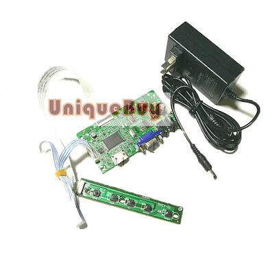 30-pin EDP interface notebook LCD HD driver board set HDMI VGA With power