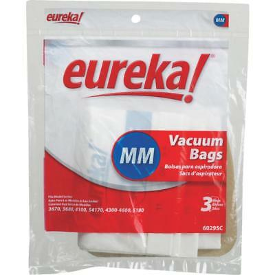 (3) Eureka MM Mighty Mite 3670 3680 Canister Vacuum Bags GENUINE
