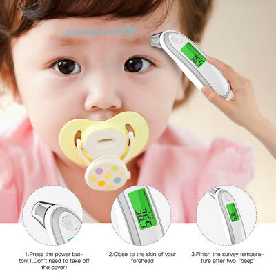 Forehead Ear Medical Baby Thermometer Dual Mode Infrared Thermometer for Baby In
