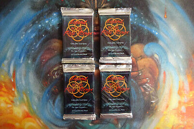 L5R Legend of the Five Rings - New Sealed Shadowlands Booster Pack x 4 - Rare