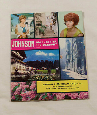 Johnson Way to Better Photography - 1965