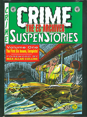 The EC Archives: Crime Suspenstories Volume 1 Hardcover