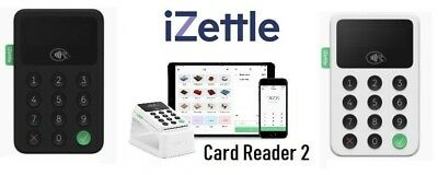 * NEW * iZettle Reader 2 Card Reader With Contacltess Payment - UK Distributor