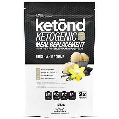 Ketōnd Ketogenic Meal Replacement (French Vanilla Creme)