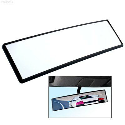 316C 538E Car Large Angle 300mm Curved Interior Clip On Rear View Convex Mirror