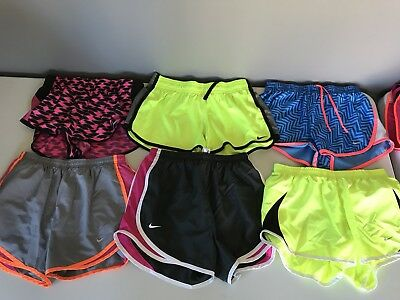 Nike Dri Fit Athletic Running Shorts Lot of 6 Womens Small