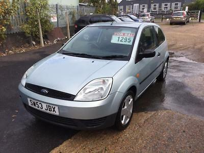 Ford Fiesta 1.25 2004 Finesse choice of 4