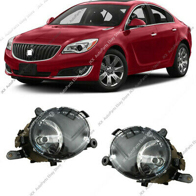 Pair Front Per Driving Lamps Fog Lights With Bulbs For Buick Regal 2017