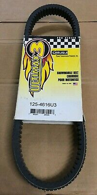 Carlisle - 125-4616U3 - Ultimax 3 Drive Belt, 1-15/64in. x 46-1/4in. - RARE