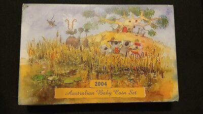 2004 Australian Baby Coin Proof Set.   SUPERB!!!