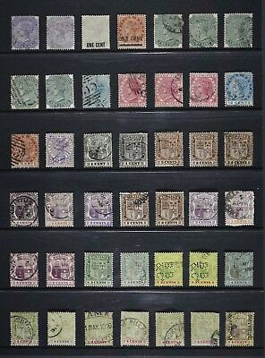 Mauritius, a collection of 139 stamps, mainly in a used condition plus some MM.