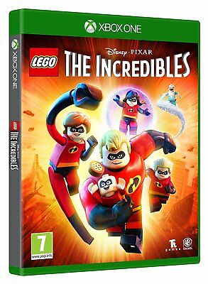 LEGO The Incredibles XBOX ONE XB1 NEW SEALED Free UK p&p UK Seller