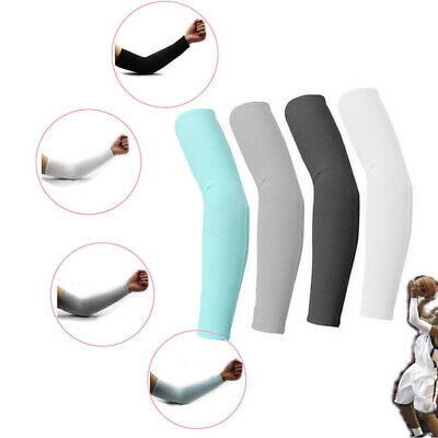1~5 Pair Cooling Arm Sleeves Cover UV Sun Protection Outdoor Sports Unisex