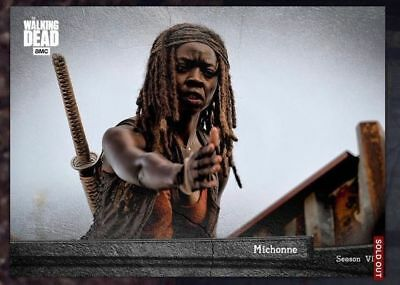EPOCH MICHONNE Topps Walking Dead Digital Card Trader TWDCT MARATHON