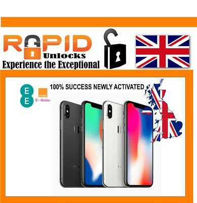 Unlocking Service For Ee Uk Under 6 Months Iphone X