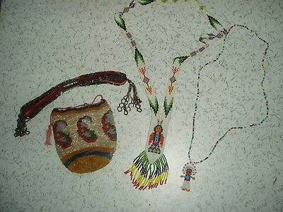Vintage Beadwork Possibly North American Indian