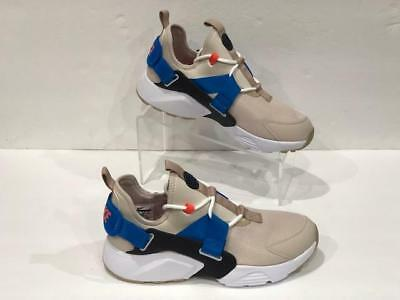 51773d0d7c85 WOMENS NIKE AIR Huarache City Low AH6804-006 Desert Sand New Size 11 ...