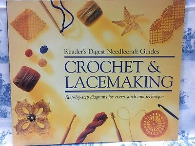 """Reader's Digest""  Needlecraft Guides Crochet and Lacemaking"