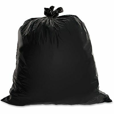 Genuine Joe Heavy-Duty Trash Bags 1.5 Mil 40-45 Gallon 50/CT Black 01534