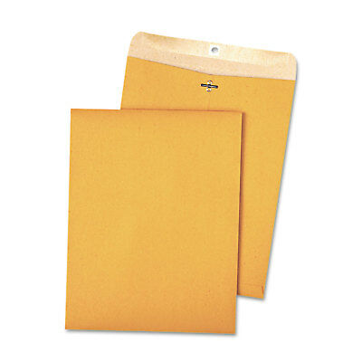 Quality Park 100% Recycled Brown Kraft Clasp Envelope 9 x 12 Brown Kraft 100/Box