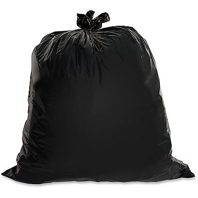 Genuine Joe Heavy-Duty Trash Bags 1.5 Mil 20-30 Gallon 100/CT Black 01532