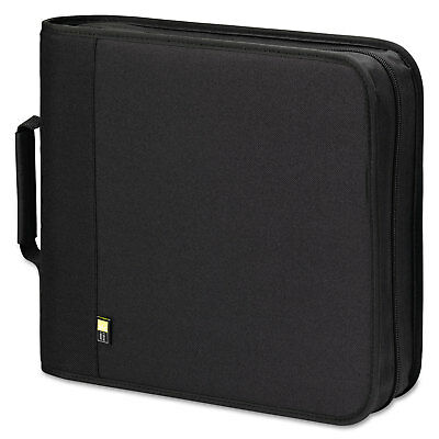 Case Logic CD/DVD Expandable Binder Holds 208 Disks Black BNB208