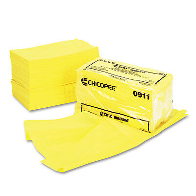 Chix Masslinn Dust Cloths 24 x 24 Yellow 50/Bag 2 Bags/Carton 0911