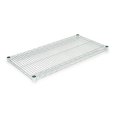 Alera Industrial Wire Shelving Extra Wire Shelves, 36w x 18d, Silver, 2 Shelves