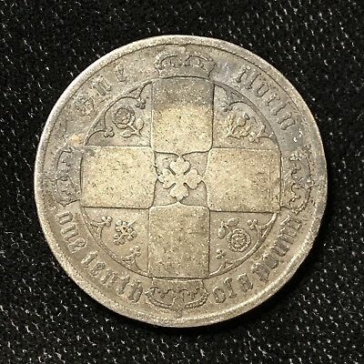 1872 FLORIN - GREAT BRITAIN *GREAT OLD BRITISH SILVER - VICTORIA - Lot#A662