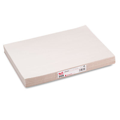 Pacon White Newsprint 30 lbs. 12 x 18 White 500 Sheets/Pack 3409