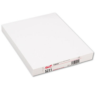 Pacon Heavyweight Tagboard 12 x 9 White 100/Pack 5211