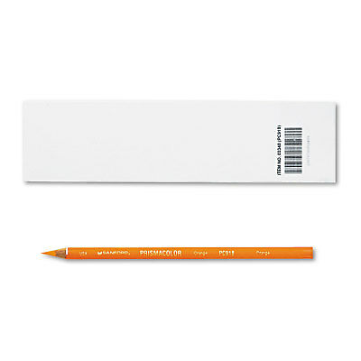 Prismacolor Premier Colored Pencil Orange Lead/Barrel Dozen 3348