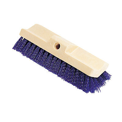 Rubbermaid Commercial Bi-Level Deck Scrub Brush Polypropylene Fibers 10 Plastic