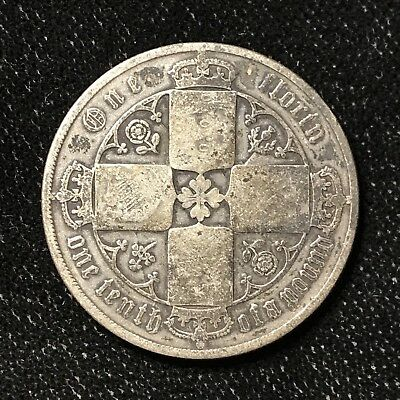 1878 FLORIN - GREAT BRITAIN *GREAT OLD BRITISH SILVER - VICTORIA - Lot#A664