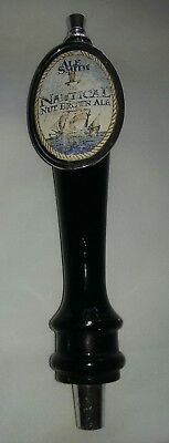 Ale Smith Nautical Nut Brown Ale Brewery Beer Tap Handle Rare Man Cave
