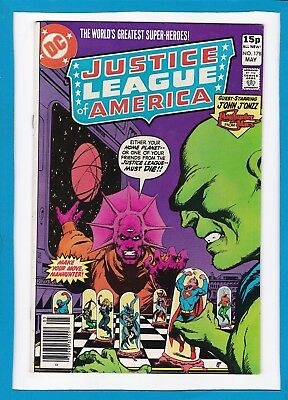 Justice League Of America #178_May 1980_Very Fine/near Mint_Bronze Age Dc_Uk!